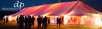 D P Marquees - tents, wedding, party marquees for hire.