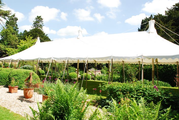 20ft x 60ft traditional unlined marquee - dp marquees ltd