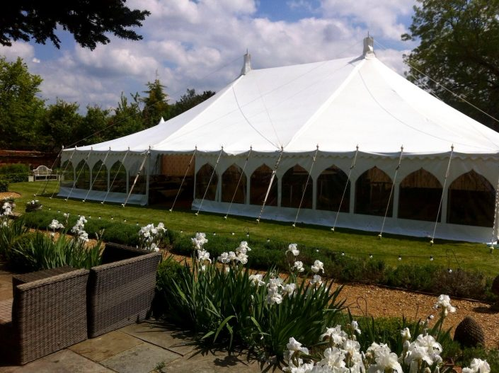 Party traditional marquee - DP Marquees