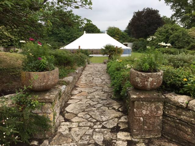 Purbeck traditional wedding - DP Marquees