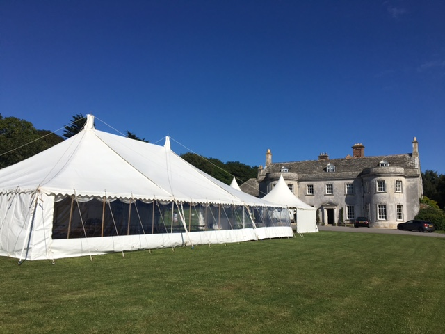 Smedmore 40'x60ft traditional - dp marquees ltd