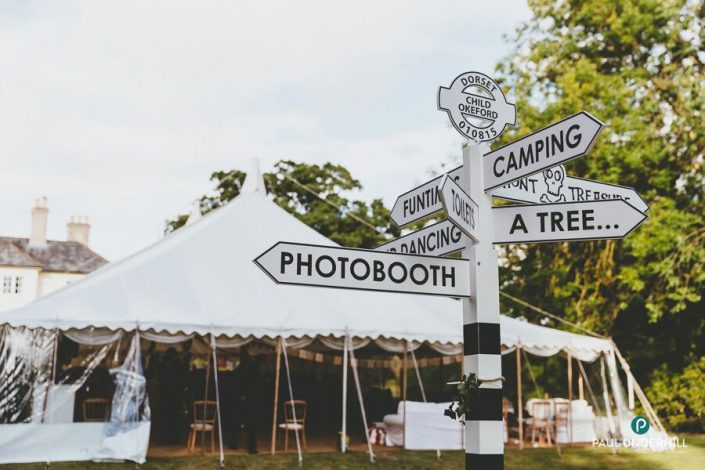 Traditional country wedding - DP Marquees