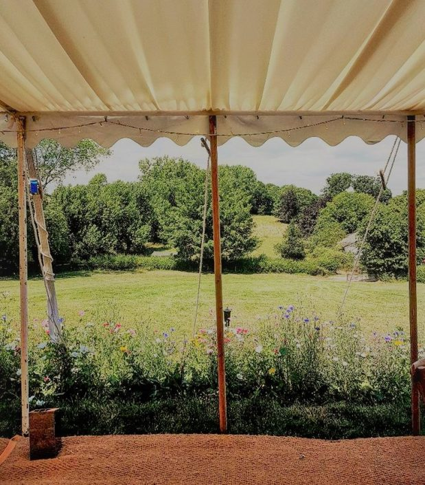 Traditional marquee open sided - dp marquees ltd