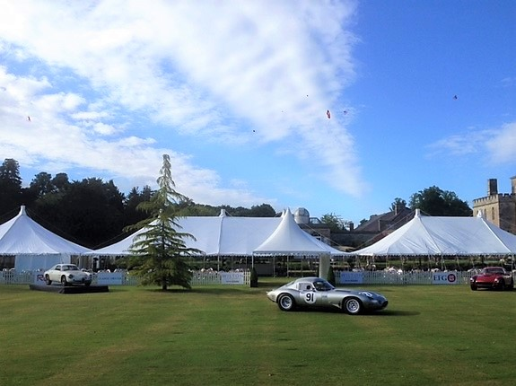 Wilton House Super Cars - DP Marquees