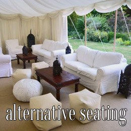 alternative seating - dp marquees
