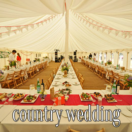 country wedding - dp marquees