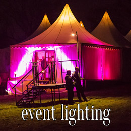 event lighting - dp marquees