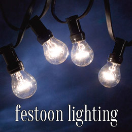 festoon lighting - dp marquees