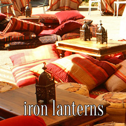iron lanterns - dp marquees