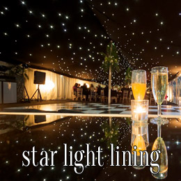 star light lining - dp marquees