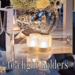 tea light holders - dp marquees