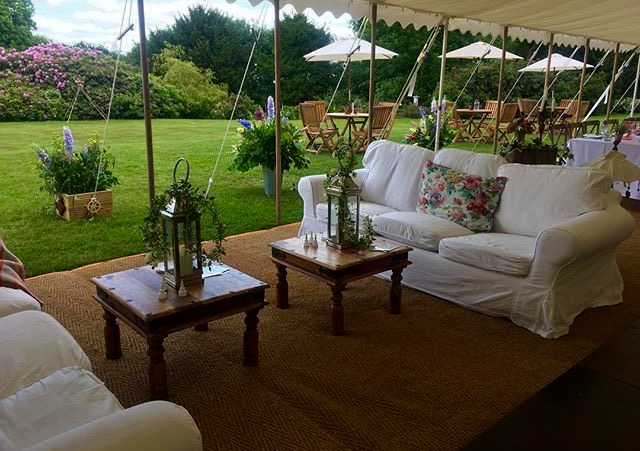 Chill out area - dp marquees ltd