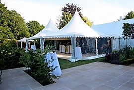 Chinese Hat Reception Marquee - DP Marquees