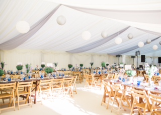 Clearspan Interior - DP Marquees