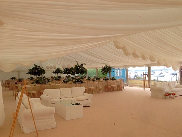 Clearspan Marquee Purbecks - DP Marquees