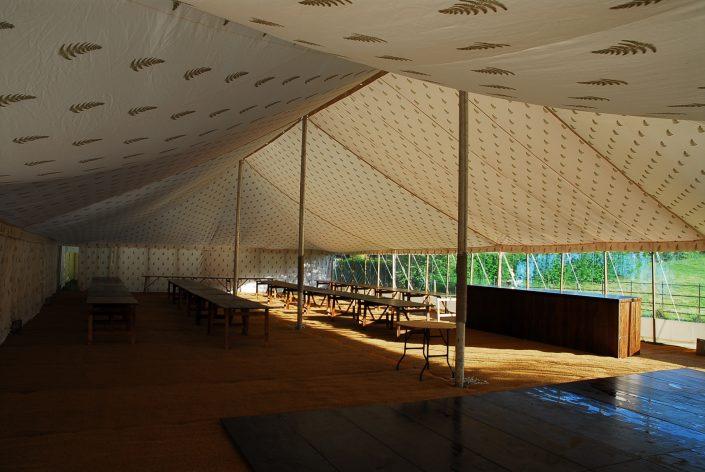 Double Rustic Bar - DP Marquees Ltd