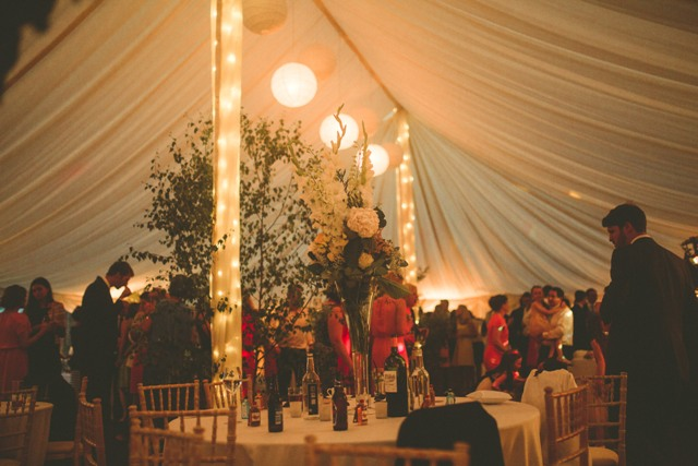 Traditional Marquee Interior - DP Marquees