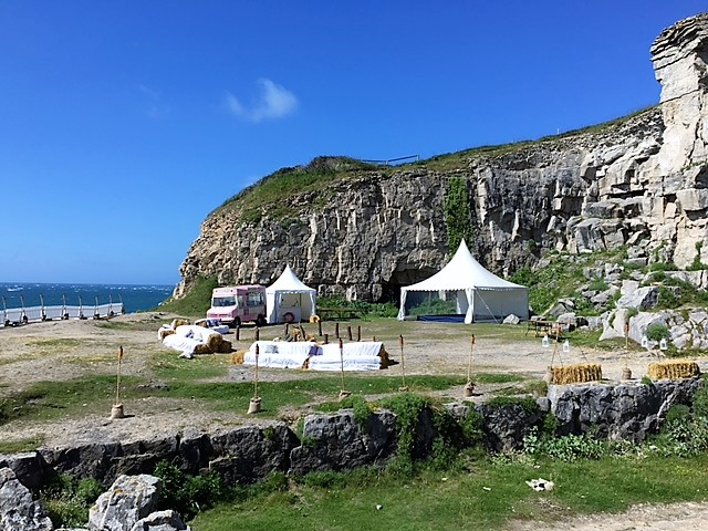 Winspit Caves - DP Marquees