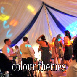 colour themes - dp marquees