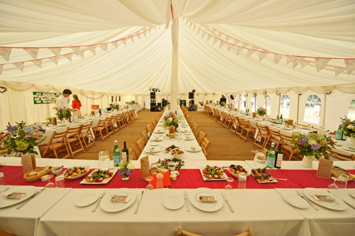 country wedding themed interior 001 - dp marquees