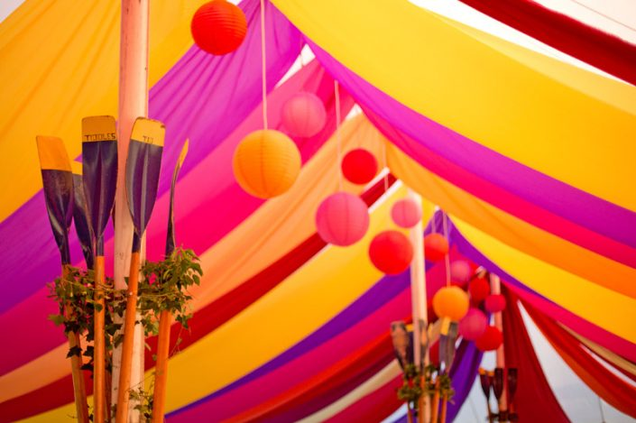 multi coloured themed interior 002 - dp marquees