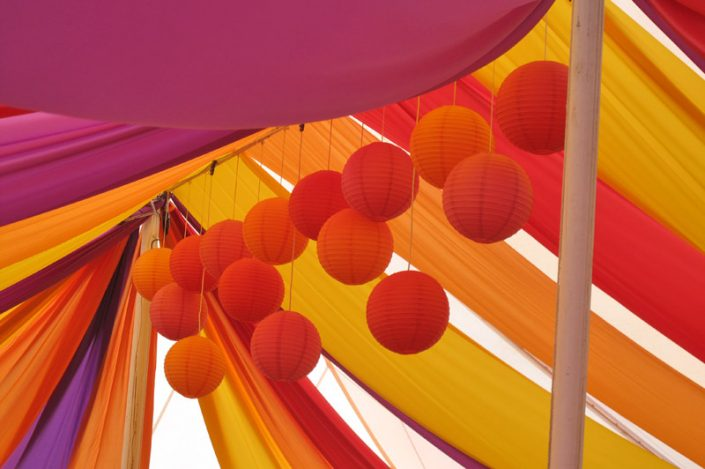 multi coloured themed interior 009 - dp marquees