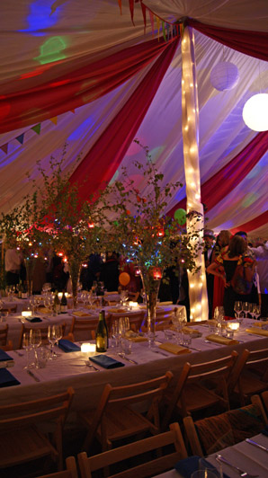 multi coloured themed interior 010 - dp marquees