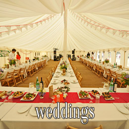 weddings - dp marquees