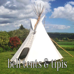 bell tents and tipis - dp marquees