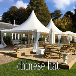 chinese hat - dp marquees
